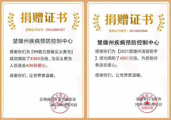 """楚雄州疾控中心积极组织开展""""99公益日"""" 募捐活动"""